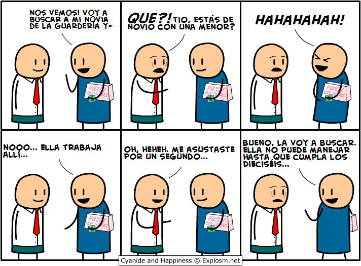 Cyanide and Happiness Megapost En español