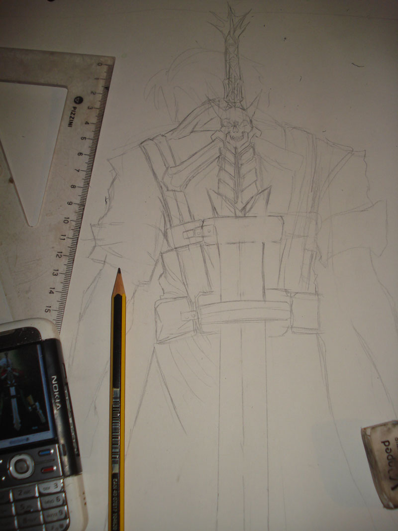 Dibujo de Dante -Devil May Cry - (GLDZX)