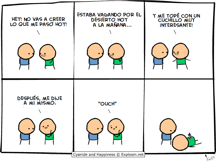 Cyanide and Happiness (humor acido) 17!!